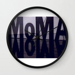MoMA-Museum of Modern Art Wall Clock