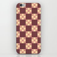 quilt iPhone & iPod Skins featuring Quilt by Lyle Hatch