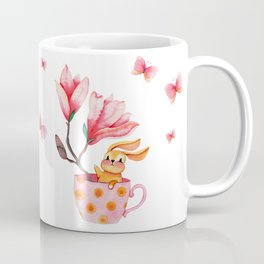 Little Bunny in a Cup Coffee Mug