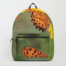 Ms. Indian Fritillary at West Lake Backpack