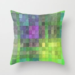 Swatches 2 Throw Pillow
