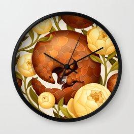 PROSPERITY IN BLOOM Wall Clock