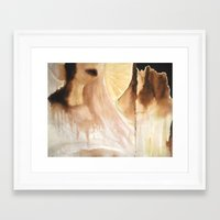 halo Framed Art Prints featuring Halo by ashley tenn