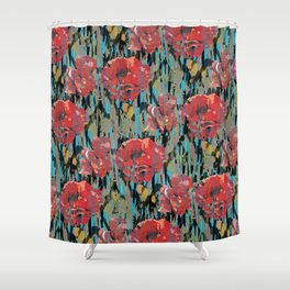 PEONYPARROT Shower Curtain