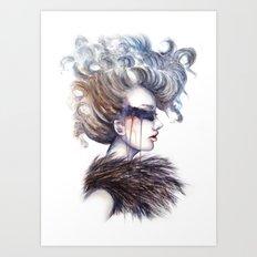 Blind // Fashion Illustration Art Print