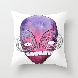 Cray cray man Throw Pillow