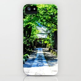 Forest Journey iPhone Case