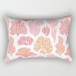 Coral Mania Rectangular Pillow