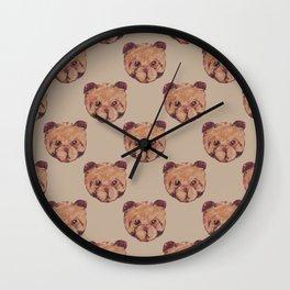 Dog Bear Wall Clock