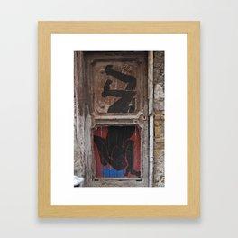 instable Framed Art Print