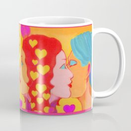 Forms Of Love MaleFeMale Coffee Mug