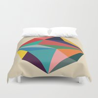 rock Duvet Covers featuring Rock by Picomodi