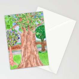 The majestic Tree Stationery Cards