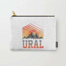Ural  TShirt Mountains Shirt Mountain Range Gift Idea  Carry-All Pouch
