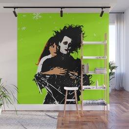 Twin Flame Edward Scissorhands Wall Mural