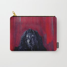 African American Masterpiece 'The Abyss' Young Man from Harlem portrait painting Carry-All Pouch