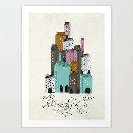 Casas Art Print