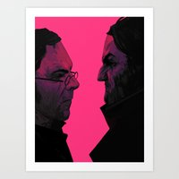 dishonored Art Prints featuring natural philosophy by VPUVWV