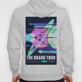 The Grand Tour : Vintage Space Poster Cool Hoody