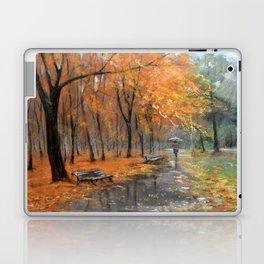 Autumn in the park # 2 Laptop & iPad Skin