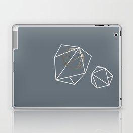 Abelie (White & gold) Laptop & iPad Skin