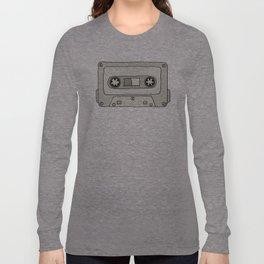 Mixtape Babe (Grey) Long Sleeve T-shirt