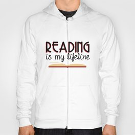 Reading is my lifeline Hoody