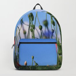 poppy flower no10 Backpack