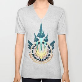 Galactica Tribute Unisex V-Neck