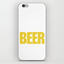 in the eye of the beer - I love beer iPhone Skin