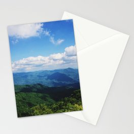 Blue Ride Mountains Stationery Cards
