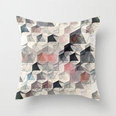 as the curtain falls (variant) Throw Pillow