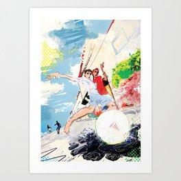 Pelada Art Print