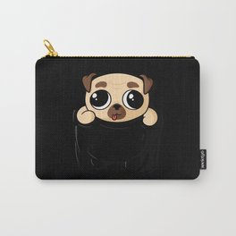 Pocket Pug Puppy Carry-All Pouch