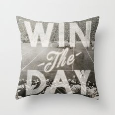 Win the Day Throw Pillow