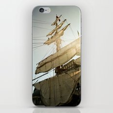Tall Ship in Boston Harbor iPhone & iPod Skin