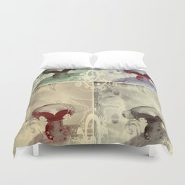 4 Keys - ILL Design - Roth Gagliano Duvet Cover