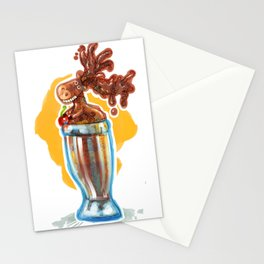 Chocolate Mousse Stationery Cards