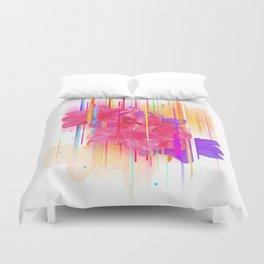 Birthday Bouquet (for Mikki) Duvet Cover