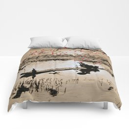 Bird Fishing Comforters