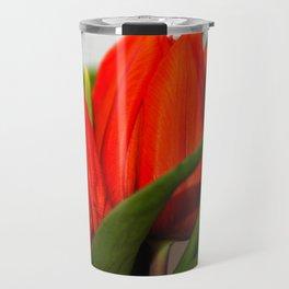 Orange tulips Travel Mug