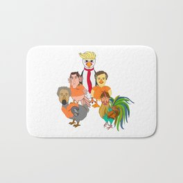 Flock of Felons Bath Mat