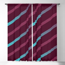 The Burgundy Blues II Blackout Curtain