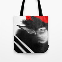 napoleon Tote Bags featuring Napoleon! by David Bernal