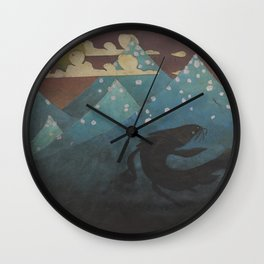 The Great Fish Wall Clock