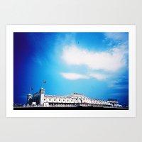 Palace Pier Art Print