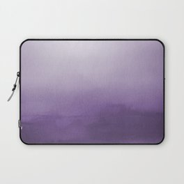 Inspired by Pantone Chive Blossom Purple 18-3634 Watercolor Abstract Art Laptop Sleeve