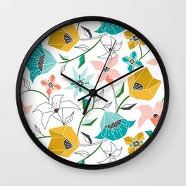 Calliope Wall Clock