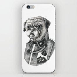 Mr. Pug iPhone Skin