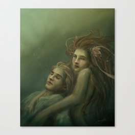 Love Rescue Me Canvas Print